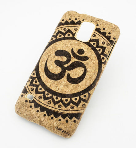 Cork Case Snap On Cover - OHM MANDALA
