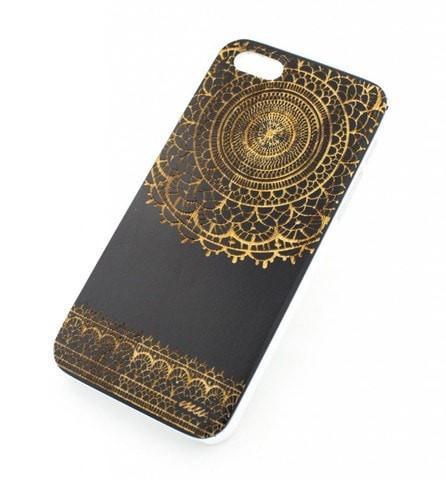 Black Bamboo Wood Case - Sun Lace