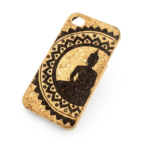 Cork Case Snap On Cover  - MANDALA BUDDHA