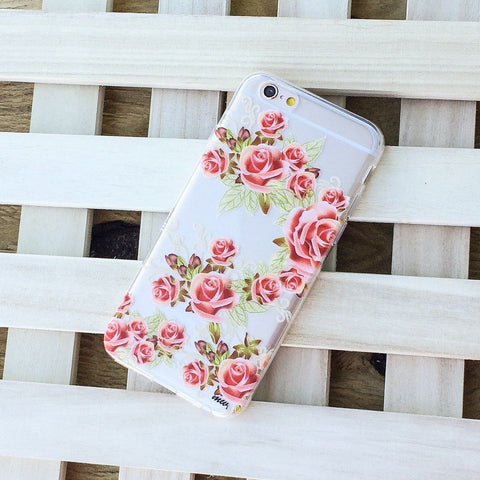 Henna Caladrina - Clear TPU Case Cover