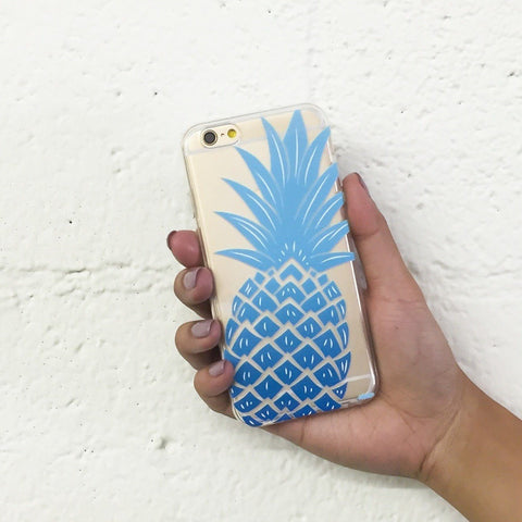The Big Pineapple - Clear TPU Case Cover