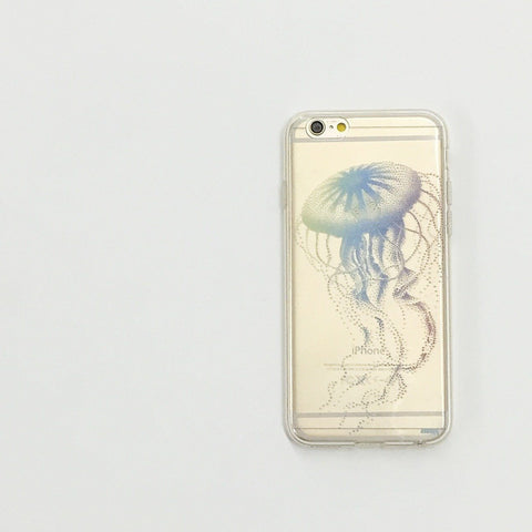 Jellyfish - Clear TPU Case Cover