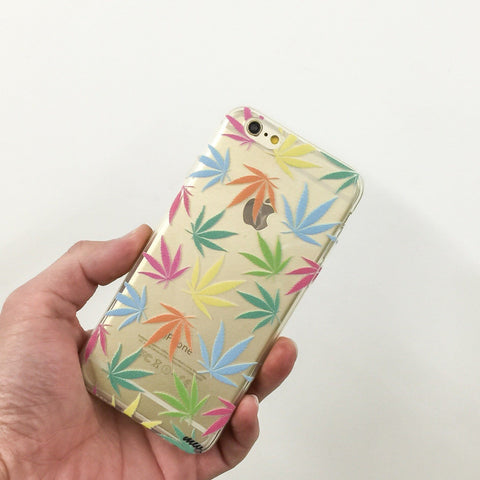 Pastel Plantlife - Clear TPU Case Cover
