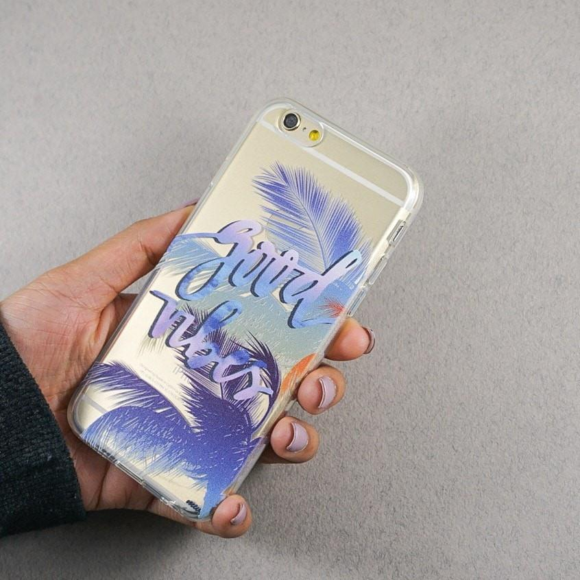 Good Vibes - Clear TPU Case Cover