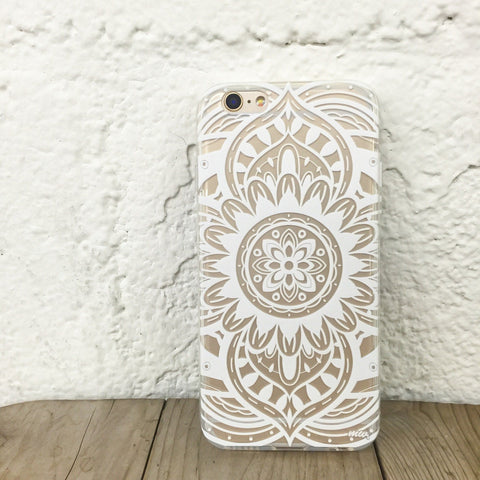 Anshi Mandala - Clear TPU Case Cover