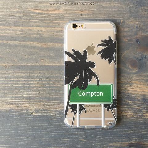 Compton - Clear TPU Case Cover