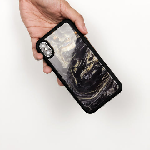Marquina Real Marble TPU Case