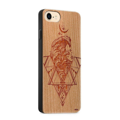 Wood  - Adventure - Milkyway Cases -  iPhone - Samsung - Clear Cut Silicone Phone Case Cover