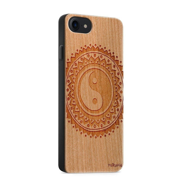 HANGING FEATHERS wood iphone case 6 7 8