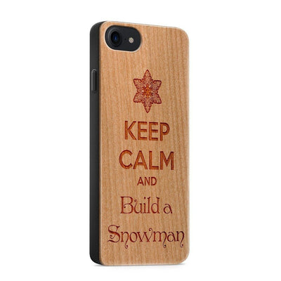 Keep Calm and Build a Snowman iphone 6 7 8