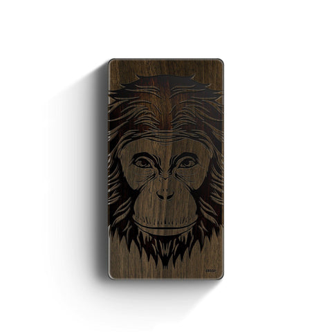 Walnut Power Bank Charger - Ape