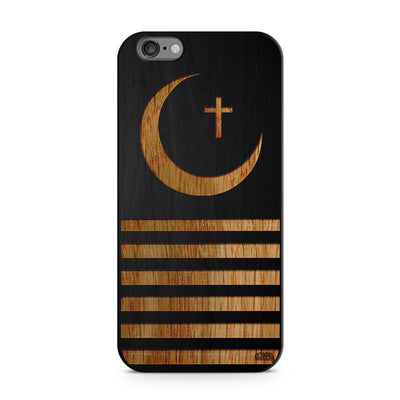 Black Bamboo - Crescent Moon - Milkyway Cases -  iPhone - Samsung - Clear Cut Silicone Phone Case Cover
