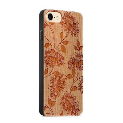 Wood  - Beauty - Milkyway Cases -  iPhone - Samsung - Clear Cut Silicone Phone Case Cover