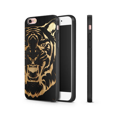 Black Bamboo - Queen of the Jungle - Milkyway Cases -  iPhone - Samsung - Clear Cut Silicone Phone Case Cover