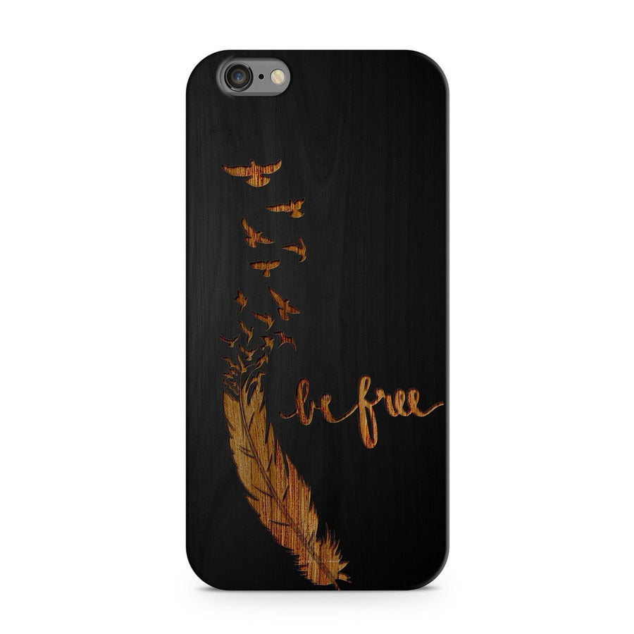 ba0850cd307 Black Bamboo - Be Free - Milkyway Cases - iPhone - Samsung - Clear Cut  Silicone