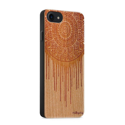 Wood  - Dripping Dreamcatcher iphone 6 7 8