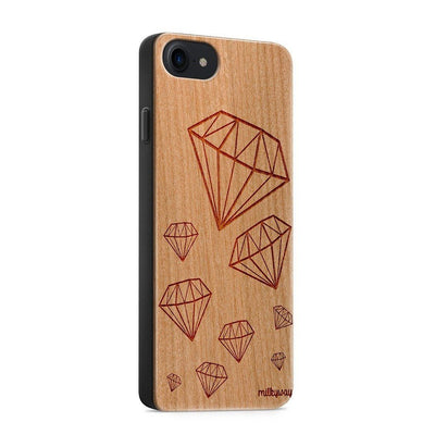 Wood  - Diamond Life iphone 6 7 8