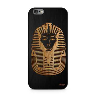 Black Bamboo - Pharaoh - Milkyway Cases -  iPhone - Samsung - Clear Cut Silicone Phone Case Cover