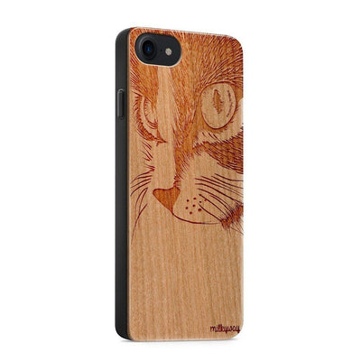 Wood  - Cat Eyes iphone 6 7 8