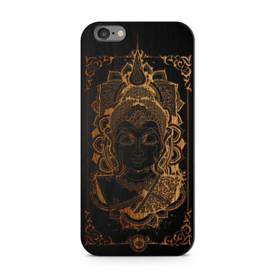 Black Bamboo - Varada Mudra Buddha - Milkyway Cases -  iPhone - Samsung - Clear Cut Silicone Phone Case Cover