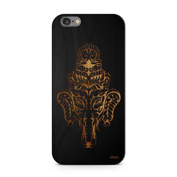 Black Bamboo - Kolakolli Elephant - Milkyway Cases -  iPhone - Samsung - Clear Cut Silicone Phone Case Cover