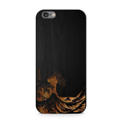 Black Bamboo - Great Wave Off Kanagawa - Milkyway Cases -  iPhone - Samsung - Clear Cut Silicone Phone Case Cover