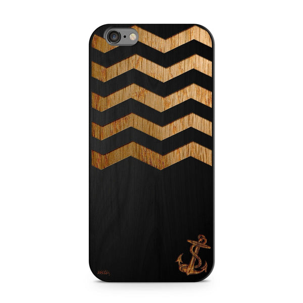 Black Bamboo - Sunken Anchor - Milkyway Cases -  iPhone - Samsung - Clear Cut Silicone Phone Case Cover