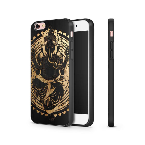 Black Bamboo - Ganesh Queen - Milkyway Cases -  iPhone - Samsung - Clear Cut Silicone Phone Case Cover