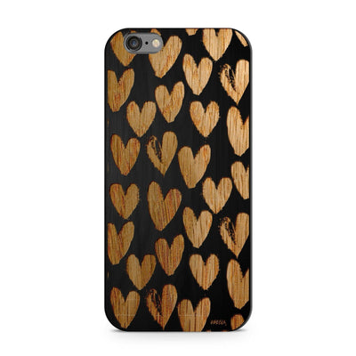 Black Bamboo - One Love - Milkyway Cases -  iPhone - Samsung - Clear Cut Silicone Phone Case Cover