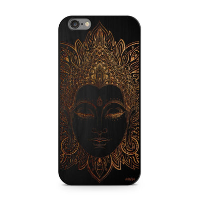 Black Bamboo - Estoric Buddha - Milkyway Cases -  iPhone - Samsung - Clear Cut Silicone Phone Case Cover