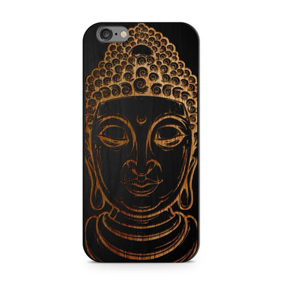Black Bamboo - Thai Buddha - Milkyway Cases -  iPhone - Samsung - Clear Cut Silicone Phone Case Cover