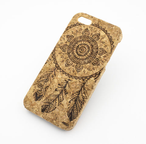 Cork Case Snap On Cover - OJIBWE DREAM CATCHER
