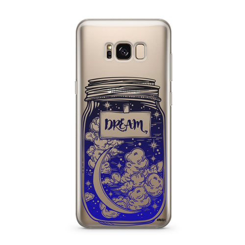 Blue Dream - Clear Case Cover for Samsung