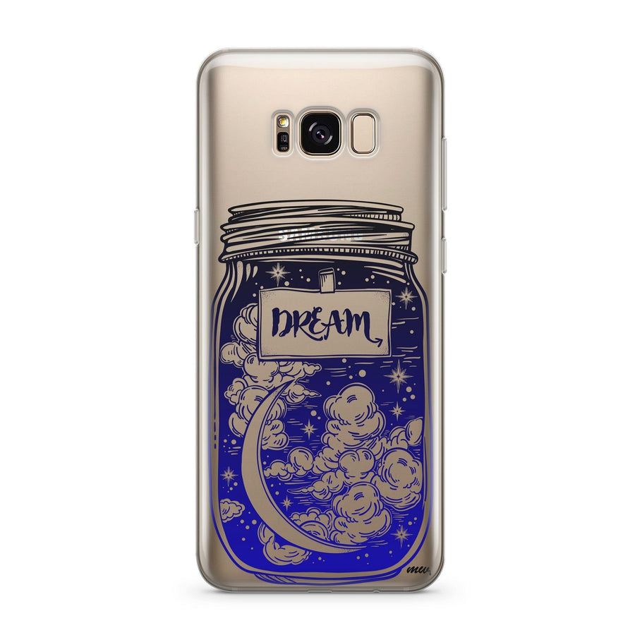 Blue Dream - Clear Case Cover for Samsung - Milkyway Cases -  iPhone - Samsung - Clear Cut Silicone Phone Case Cover