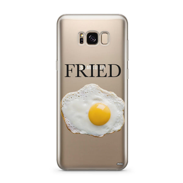 Fried - Clear Case Cover for Samsung - Milkyway Cases -  iPhone - Samsung - Clear Cut Silicone Phone Case Cover