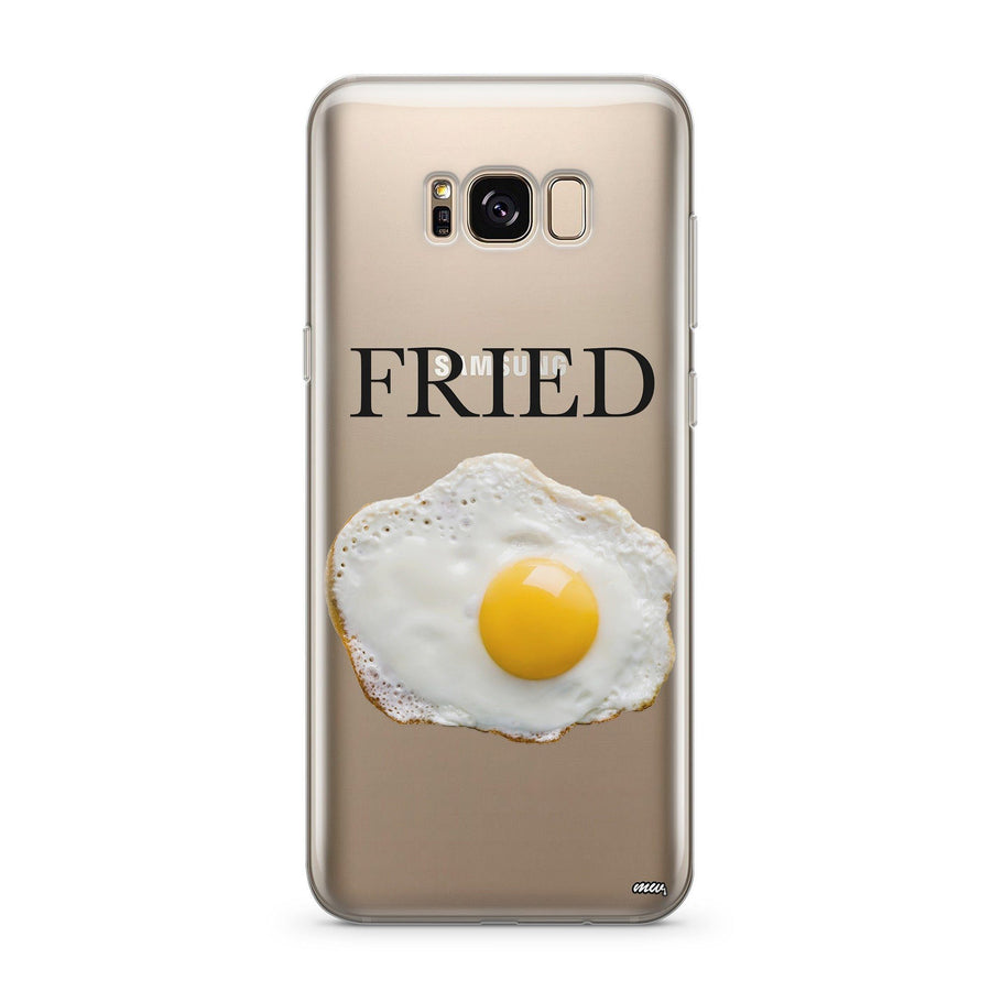 Fried - Clear Case Cover for Samsung