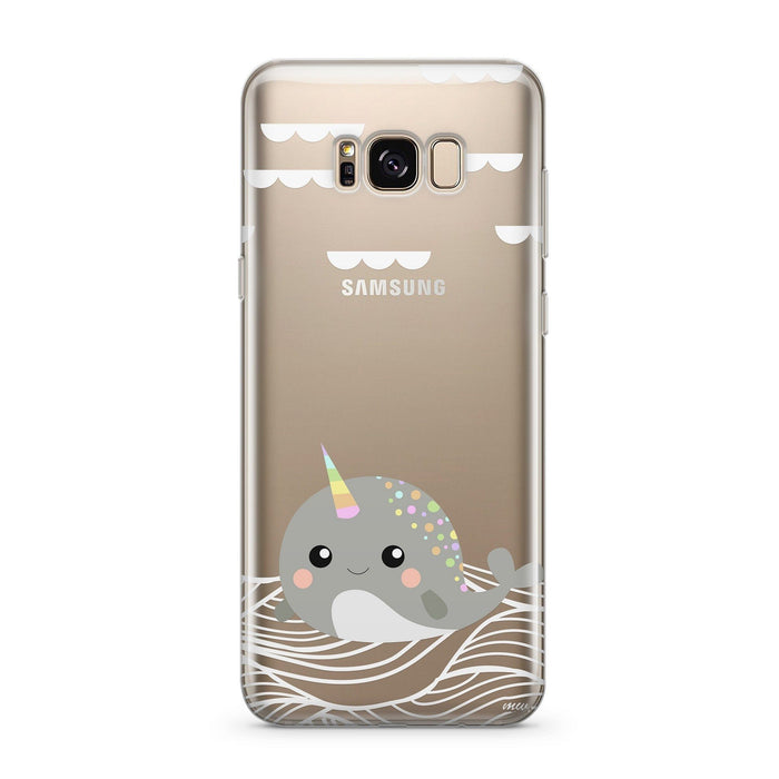 Narwhal - Clear Case Cover for Samsung