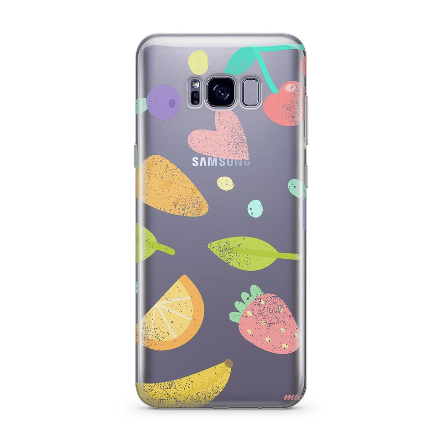Vegan - Clear Case Cover for Samsung