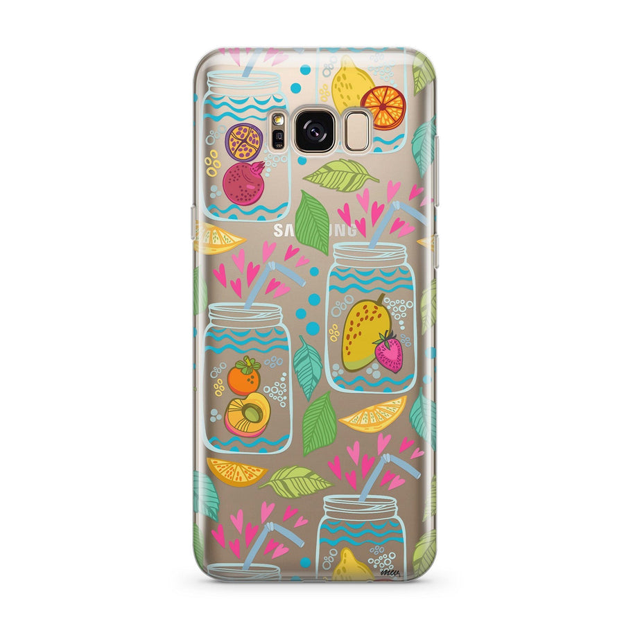 Homemade Lemonade - Clear Case Cover for Samsung
