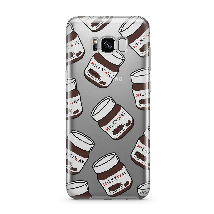 Milkyway Spread (@okitssteph x @milkywaycases) - Clear Case Cover for Samsung - Milkyway Cases -  iPhone - Samsung - Clear Cut Silicone Phone Case Cover