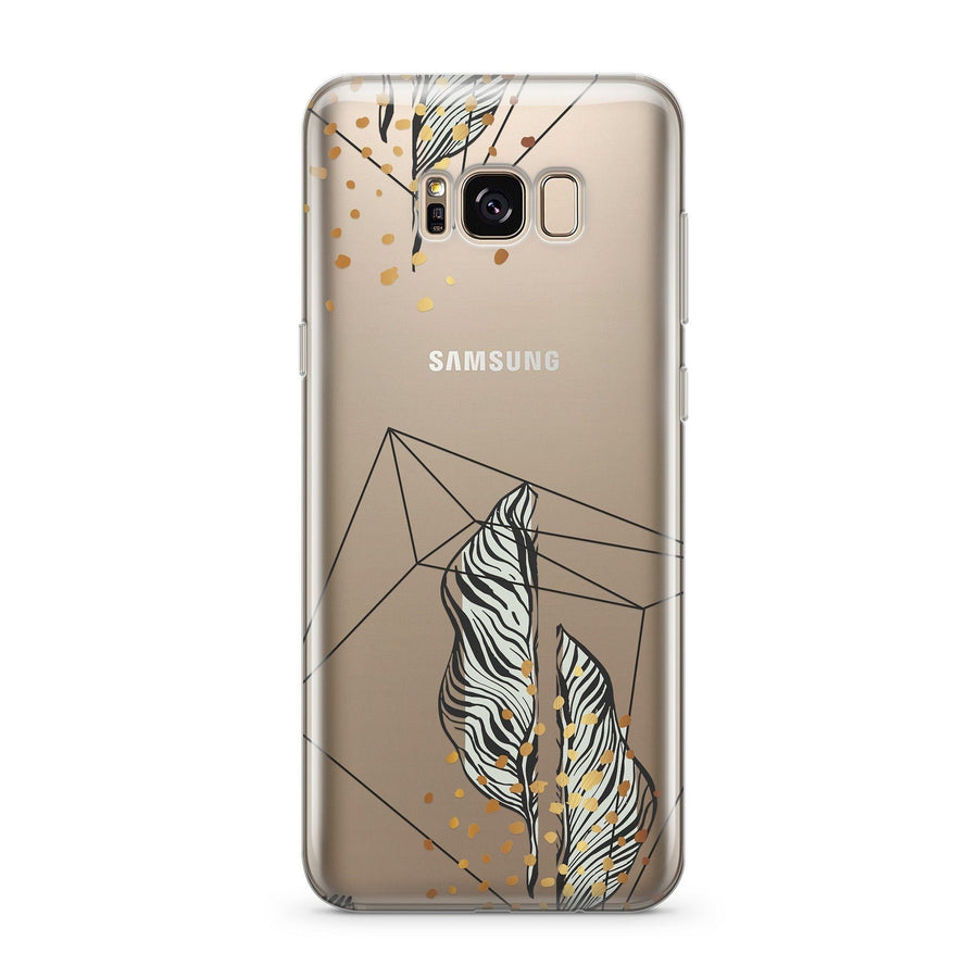 Bad And Boujee  - Clear Case Cover for Samsung