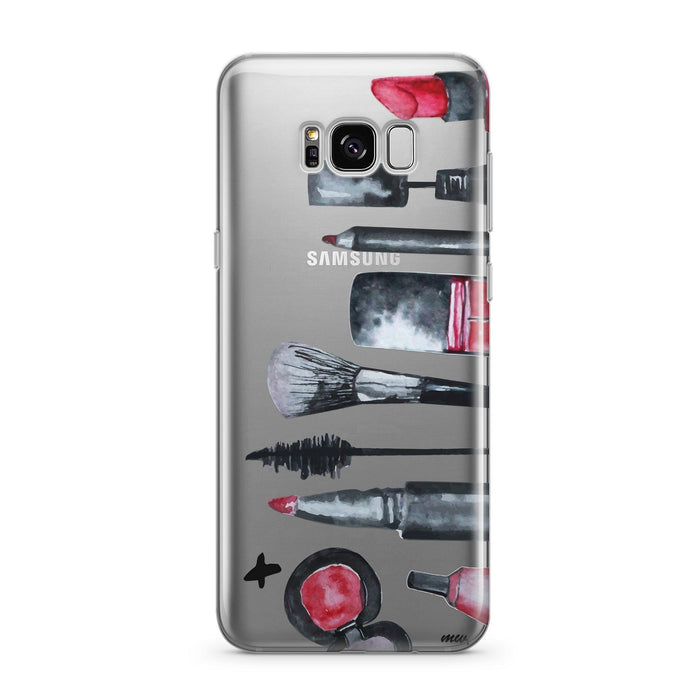 Glam  - Clear Case Cover for Samsung