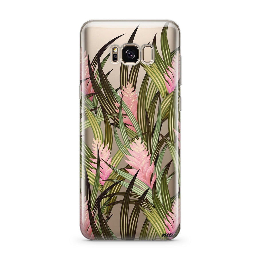 Cyanea - Clear Case Cover for Samsung