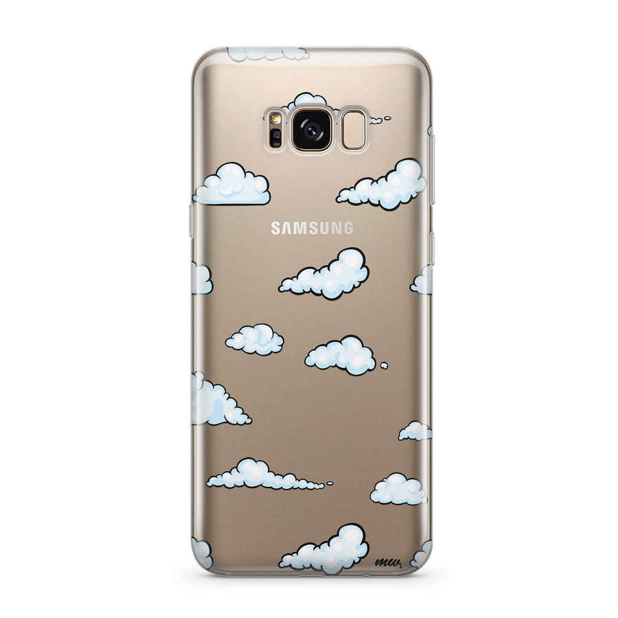 Cloud 9 - Clear Case Cover for Samsung - Milkyway Cases -  iPhone - Samsung - Clear Cut Silicone Phone Case Cover