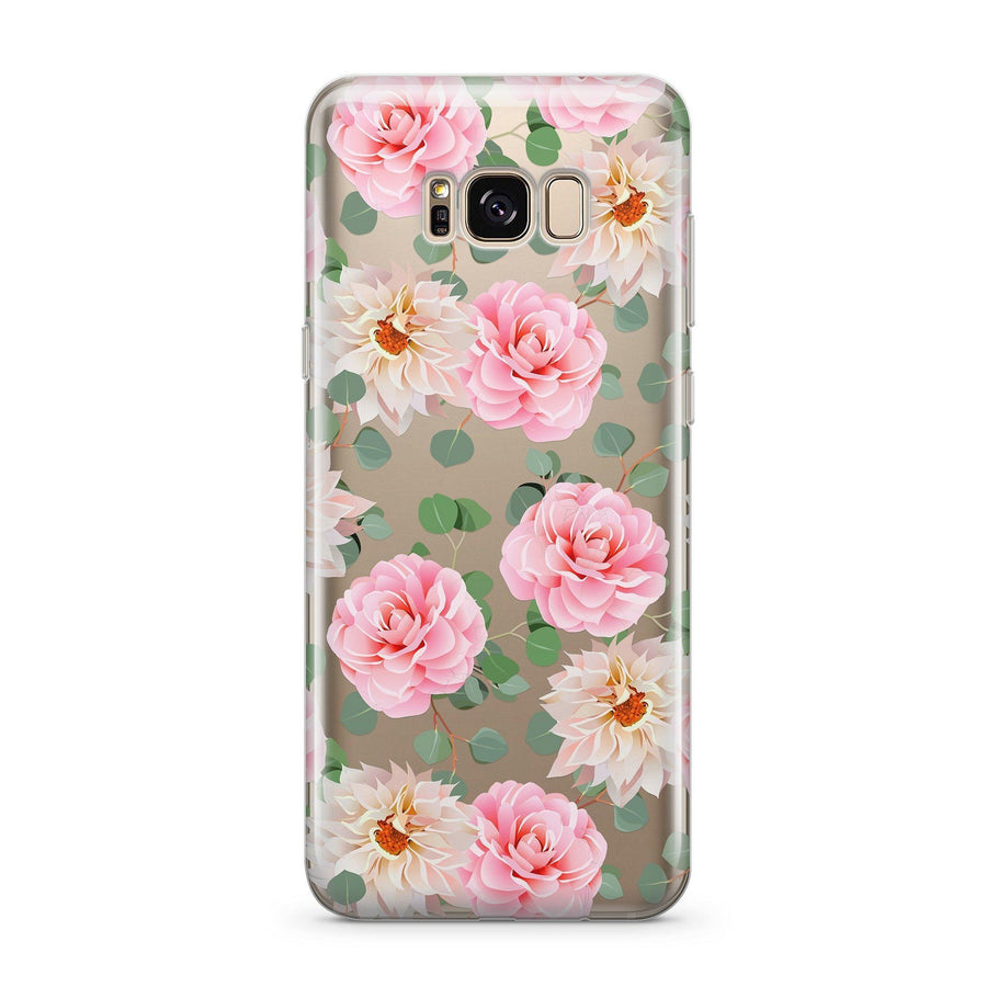 Camellia - Clear Case Cover for Samsung - Milkyway Cases -  iPhone - Samsung - Clear Cut Silicone Phone Case Cover