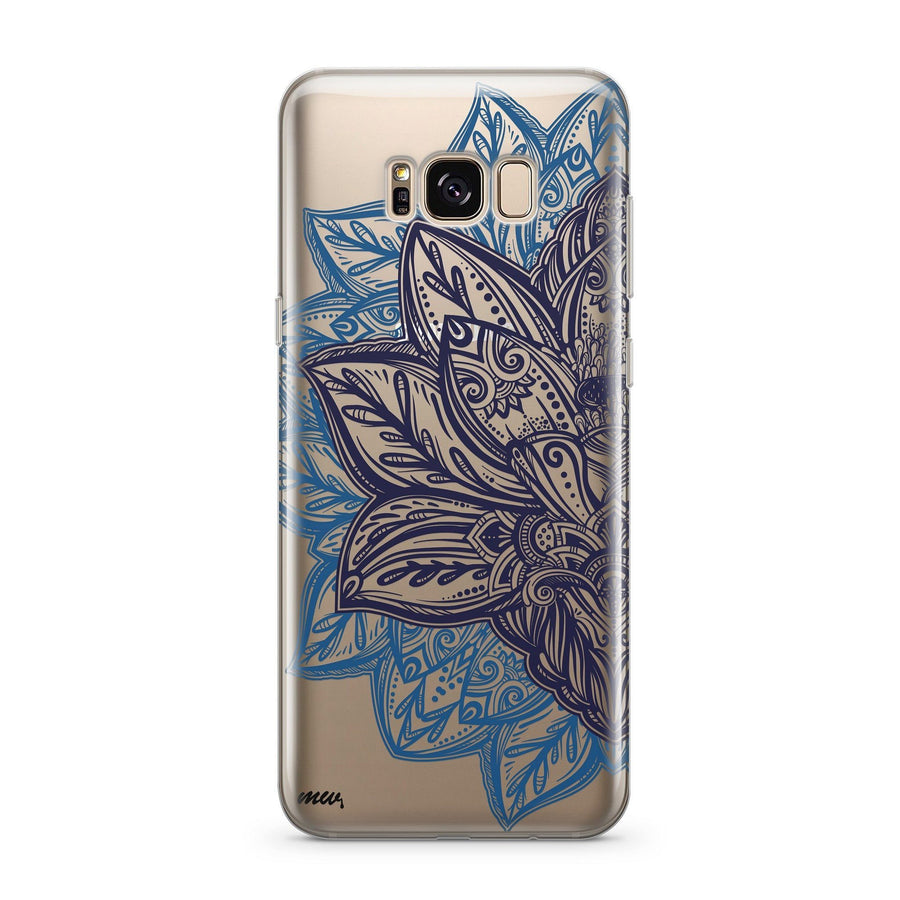 Alchemy Mandala - Clear Case Cover for Samsung - Milkyway Cases -  iPhone - Samsung - Clear Cut Silicone Phone Case Cover