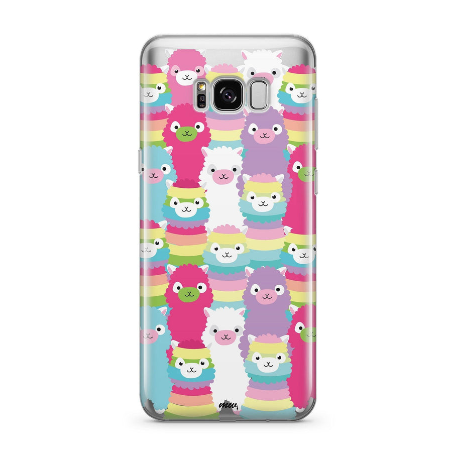 Alpaca Squad - Clear Case Cover for Samsung