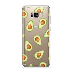 Avocado - Clear Case Cover for Samsung