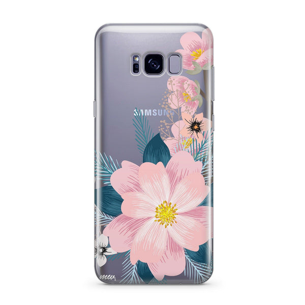 Luau - Clear Case Cover for Samsung - Milkyway Cases -  iPhone - Samsung - Clear Cut Silicone Phone Case Cover