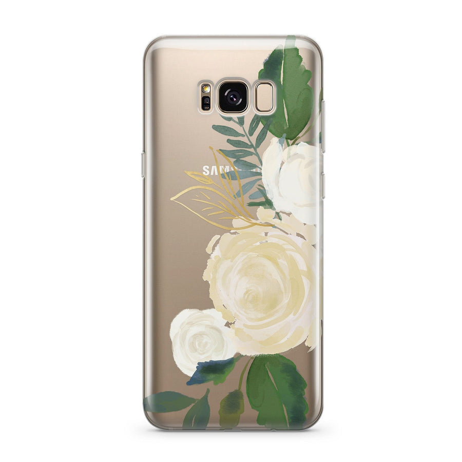 Caroline - Clear Case Cover for Samsung